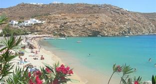 Super Paradise Beach, Mykonos, Greece