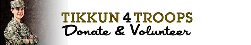 Tikkun 4 Troop - Donate and Volunteer