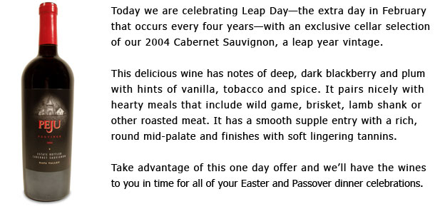 04Cab text2 Peju Province Winery Offer