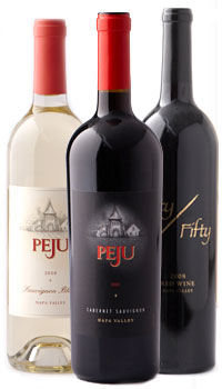 Bottles4 Peju Winery Offer