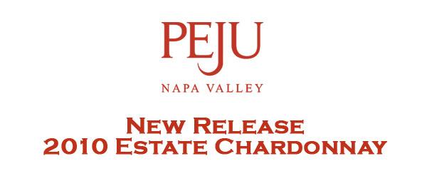 Peju logo newrelease 2010chardonnay Peju Update