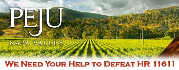 Peju logo persephone header HR1161 sm Help Defeat HR 1161