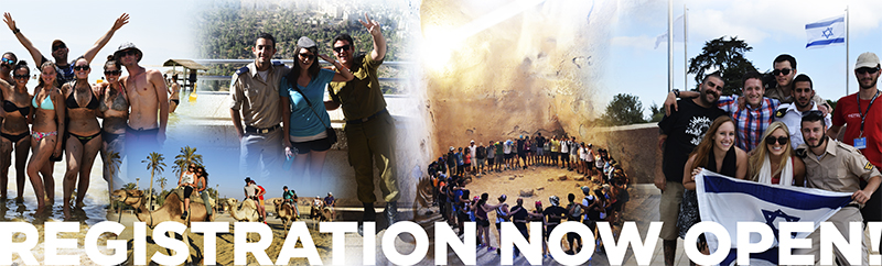 Birthright Israel - Registration now open