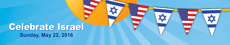 Celebrate Israel - Sunday, May 22